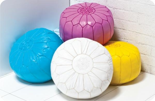 Le pouf marocain est un meuble cosy décoratif qui vous dote d\'une ...