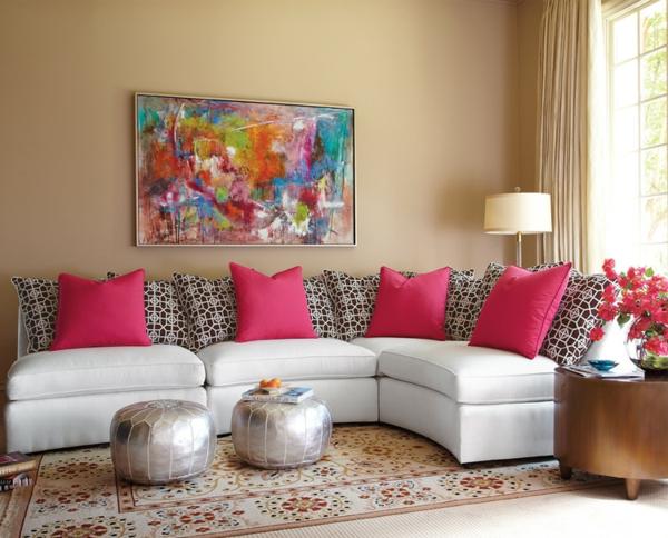 pouf-marocain-poufs-couleur-argent
