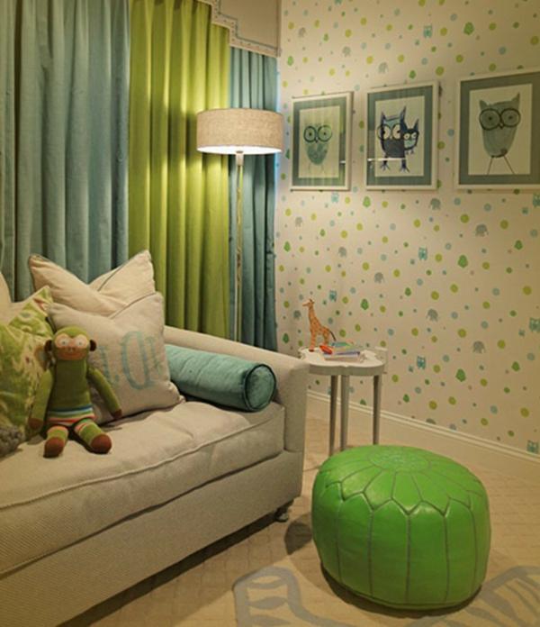 pouf-marocain-dans-une-chambre-d'enfant