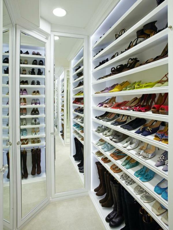 le range chaussures mural - designs modernes - archzine.fr - Meuble De Rangement Chaussures Design