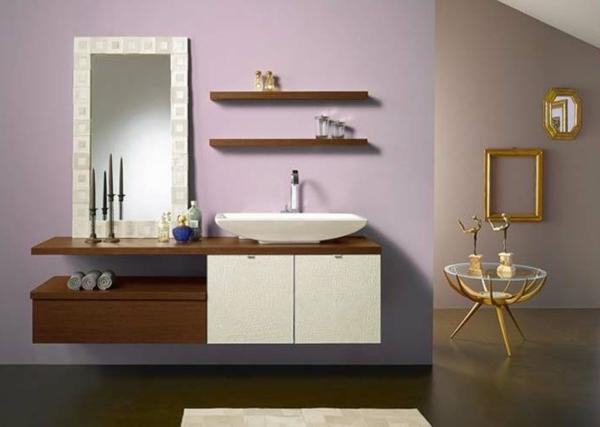 Le rangement de salle de bains - Etagere salle de bain design ...