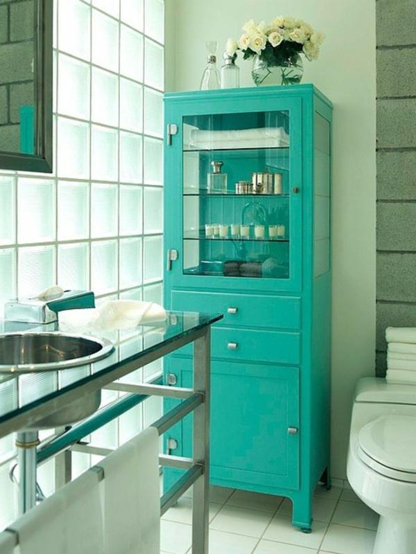 rangement-de-salle-de-bains-moderne-turquoise