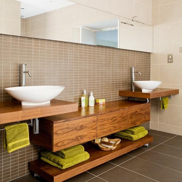 Le rangement de salle de bains for Salle de bain elegante