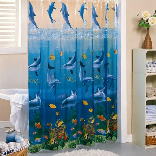 un rideau de douche original transforme votre salle de