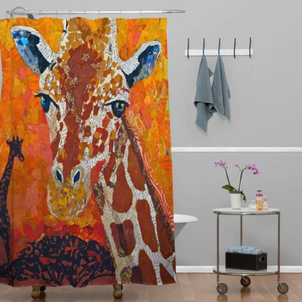 rideau-de-douche-original-une-girafe
