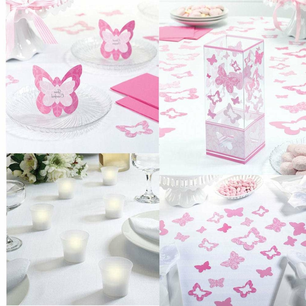 Cool d coration de bapt me pour une princesse - Idee deco table bapteme fille ...