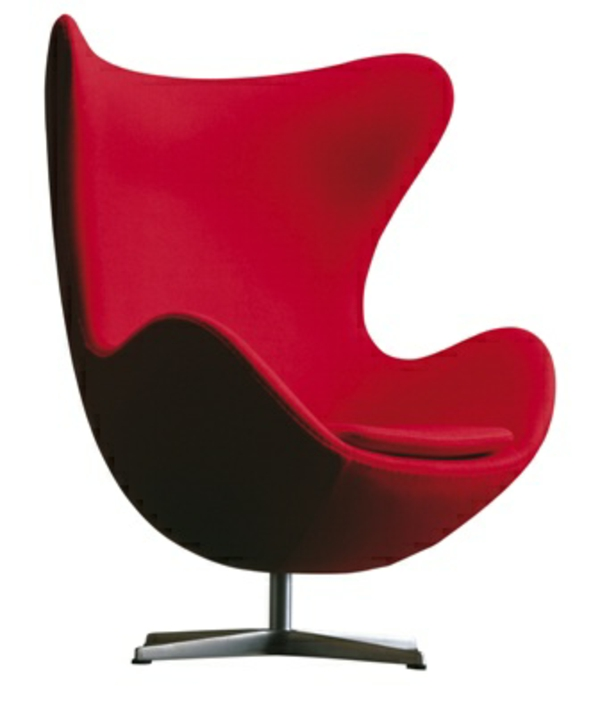 rouge-chaise-scandinave
