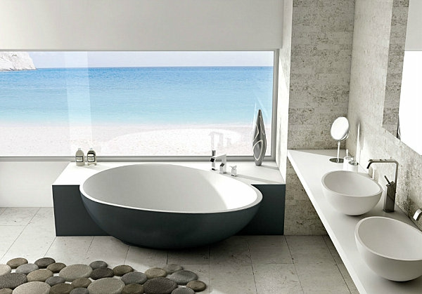 meuble salle de bain style bord de mer id e inspirante pour la conception de la. Black Bedroom Furniture Sets. Home Design Ideas