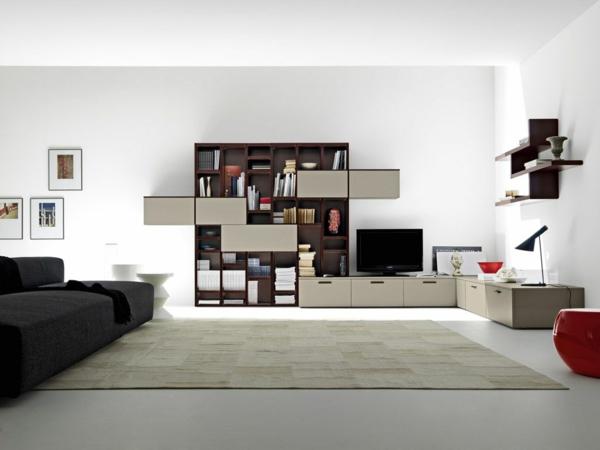 salon-et-meuble-design-étagère-futuriste