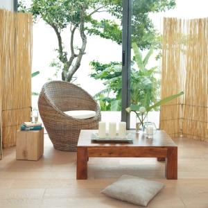 Le paravent bambou partout!