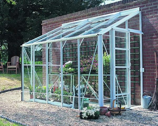 serre-de-jardin-en-polycarbonate-encadrement-bleu