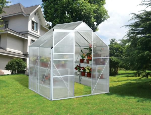 serre de jardin verre ou polycarbonate inspiraci n para el dise o del hogar y las ideas interiores. Black Bedroom Furniture Sets. Home Design Ideas