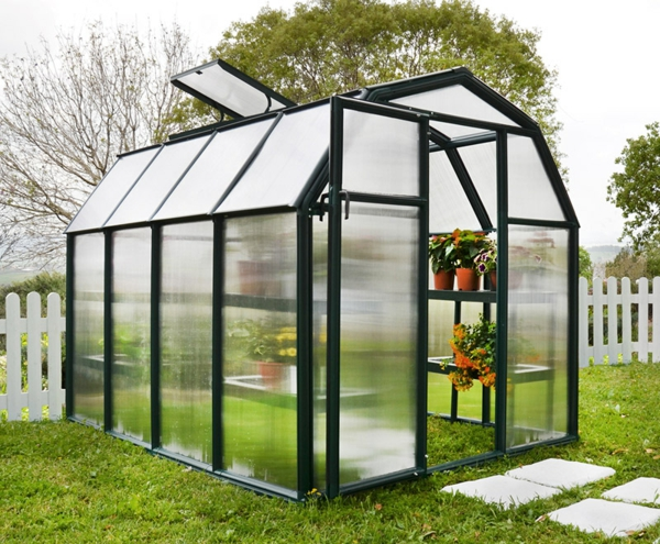 La serre de jardin en polycarbonate for Plantes decoratives jardin