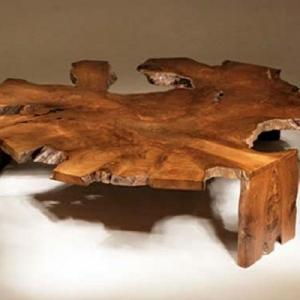 Modèles de table basse originale inspirés par la nature