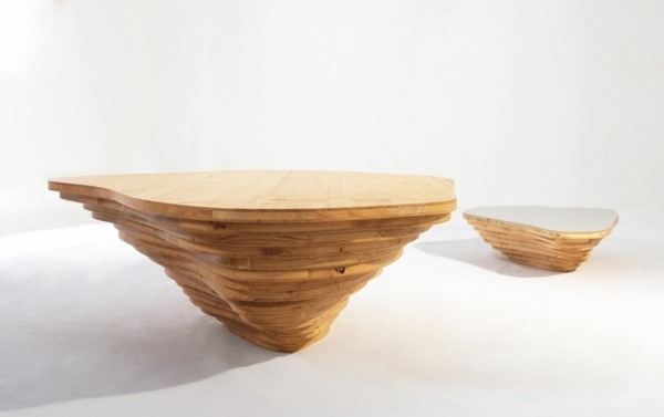 Mod u00e8les de table basse originale inspirés par la nature # Table Basse Originale En Bois