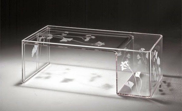 La table basse transparente designs cr atifs - Table basse acrylique ...