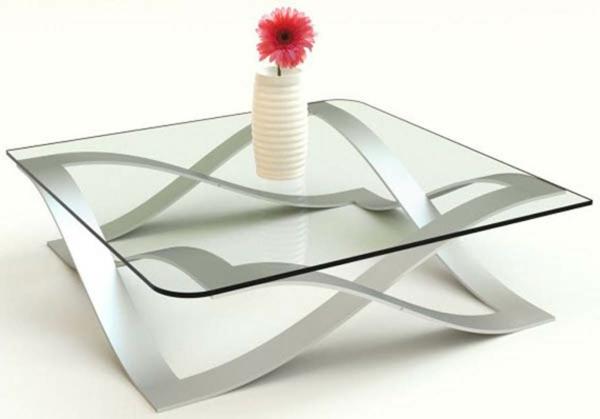 La table basse transparente designs cr atifs - Table basse transparente ...