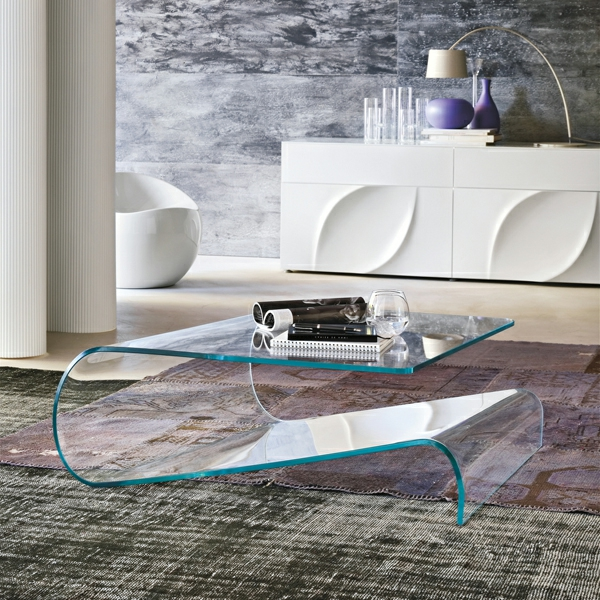 la table basse transparente designs cr atifs. Black Bedroom Furniture Sets. Home Design Ideas
