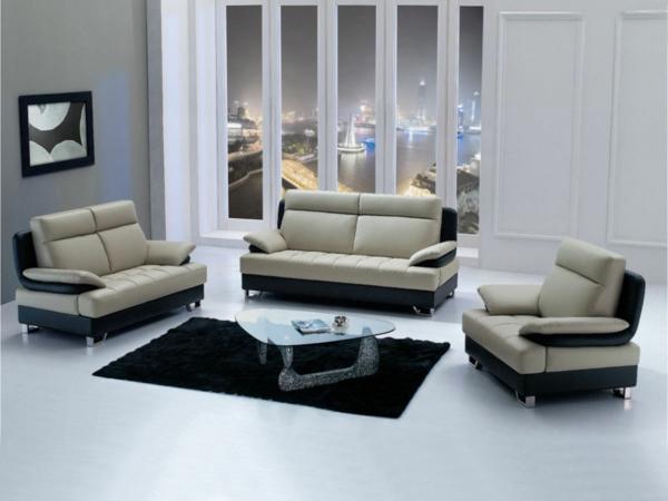 table-basse-transparente-salle-de-séjour-moderne