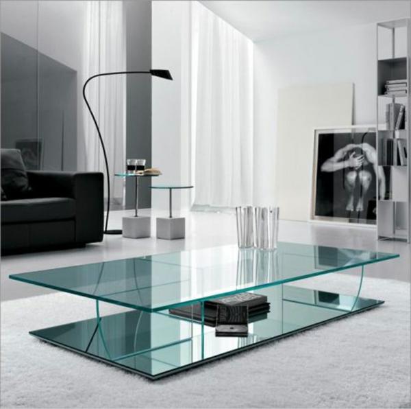 table-basse-transparente-salle-de-séjour