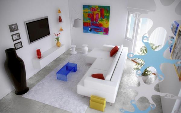 table-basse-transparente-table-bleue-acrylique-intérieur-fantastique