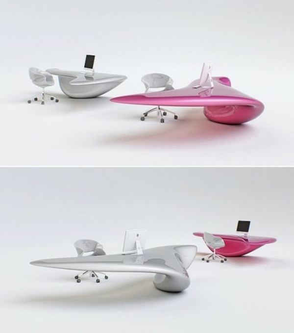 table-futuriste-design-en-gris-et-rose