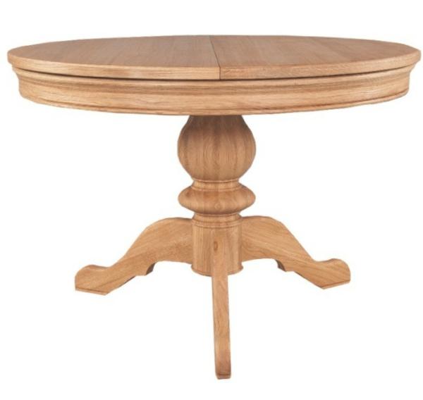 table-ronde-extensible-à-trois-pieds