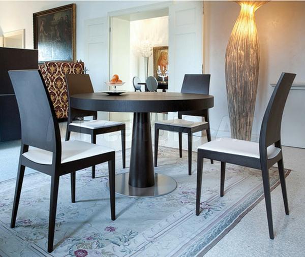 table-ronde-extensible-bois-sombre