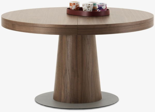 Table ronde extensible design praticit font de la table for Table ronde extensible
