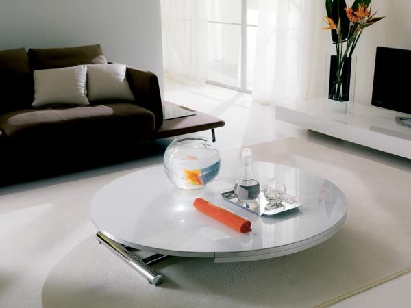 table-ronde-extensible-hauter-réglable