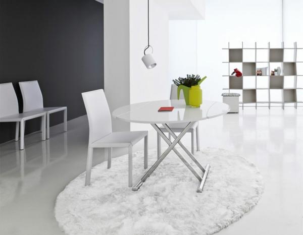 table-ronde-extensible-intérieur-blanc-minimaliste