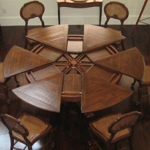 La table ronde extensible - idées pratiques pour votre ameublement