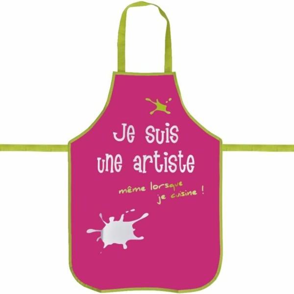 Un tablier de cuisine mod les originales - Tablier cuisine petite fille ...