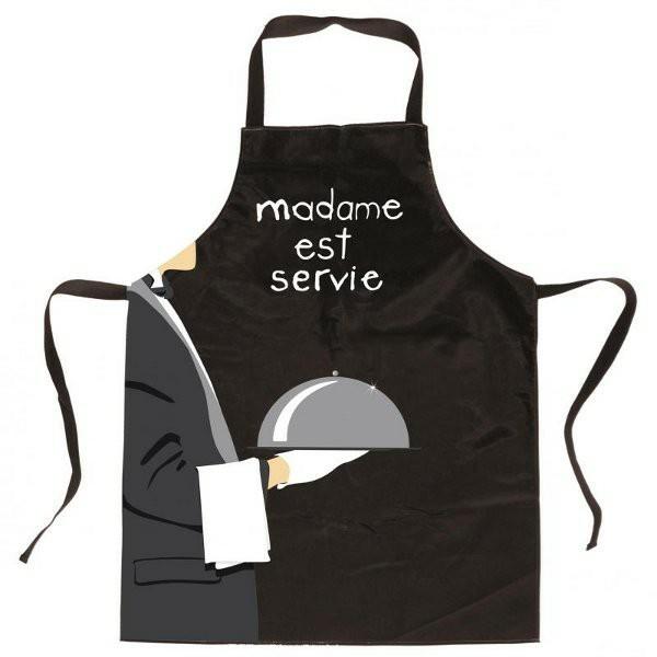 Un tablier de cuisine mod les originales - Tablier cuisine pour homme ...