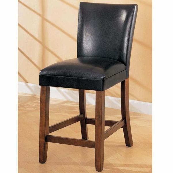 le tabouret de bar noir. Black Bedroom Furniture Sets. Home Design Ideas