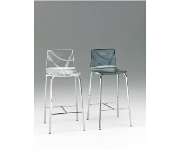 un tabouret de bar transparent chic et modernit. Black Bedroom Furniture Sets. Home Design Ideas