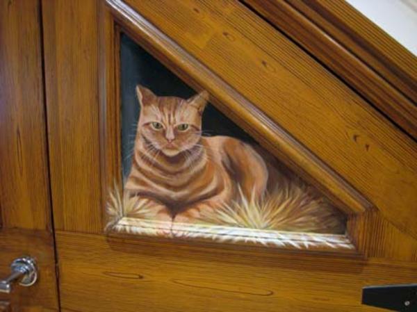 trompe-l' oeil-pour-porte-un-chat