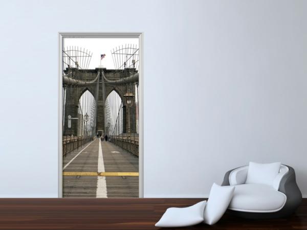 trompe-l' oeil-pour-porte-un-pont