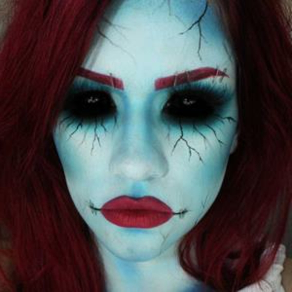 Image maquillage halloween sorci re - Maquillage enfant sorciere ...