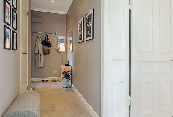 faire un d co de couloir contemporain. Black Bedroom Furniture Sets. Home Design Ideas