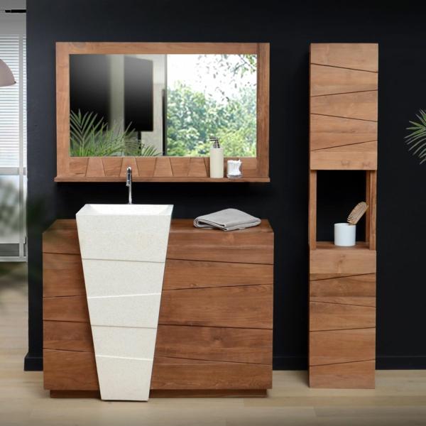 la vasque colonne id es pratiques et style luxueux. Black Bedroom Furniture Sets. Home Design Ideas