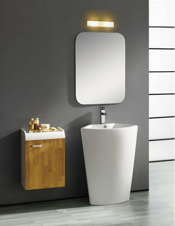 La vasque colonne - idées pratiques et style luxueux - Archzine.fr