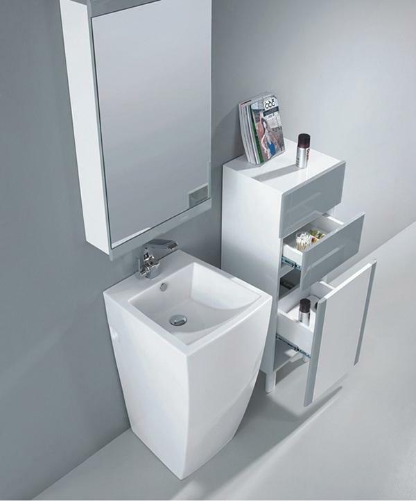 vasque-colonne-miroir-et-commode-blanc
