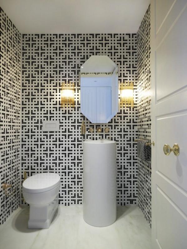 vasque-colonne-papier-carrelage-figures-géométriques