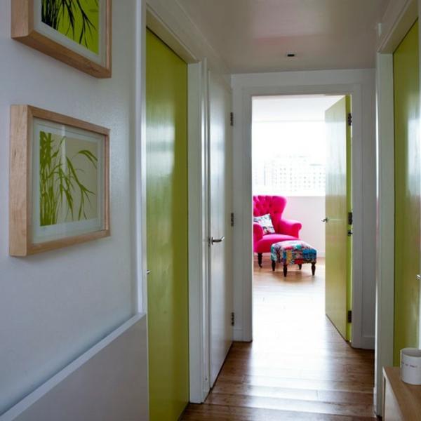 Faire un d co de couloir contemporain - Tableau pour deco couloir ...