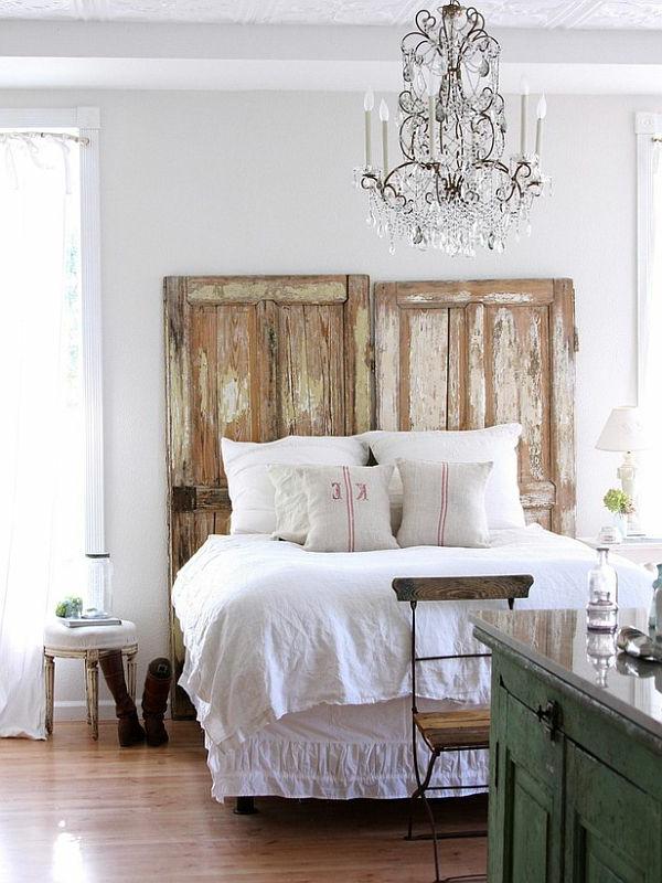 vintage-style-tête-de-lit-en-coussin