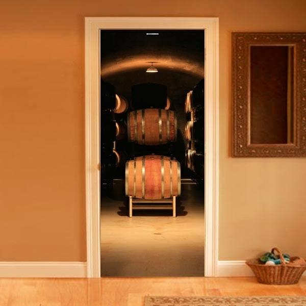 le trompe l 39 oeil pour porte un amusement et un changement de perspective. Black Bedroom Furniture Sets. Home Design Ideas