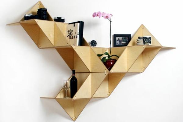 étagère-murale-design-étagère-intéressante
