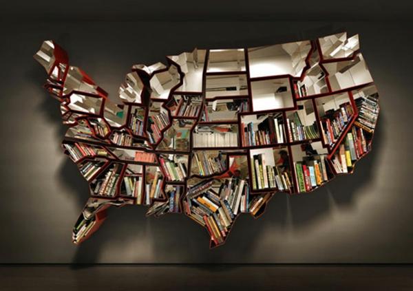 étagère-murale-design-forme-géographique