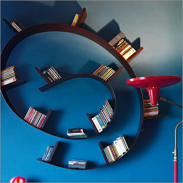 étagère-murale-design-l'étagères-spirale